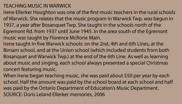 Teaching music in Warwick