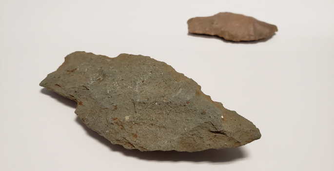Stone tools found on Lambton Heritage Museum's property