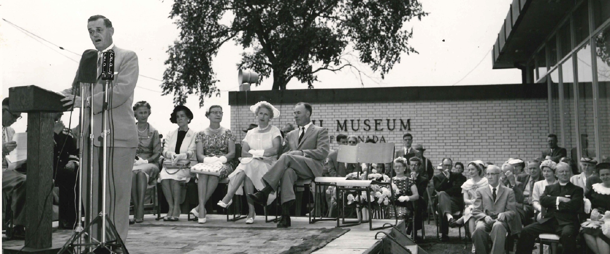 Grand Opening of Oil Museum of Canada in 1960.