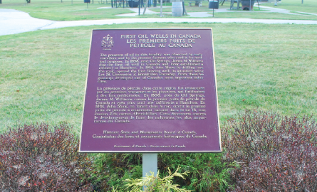 National Historic Site Plaque